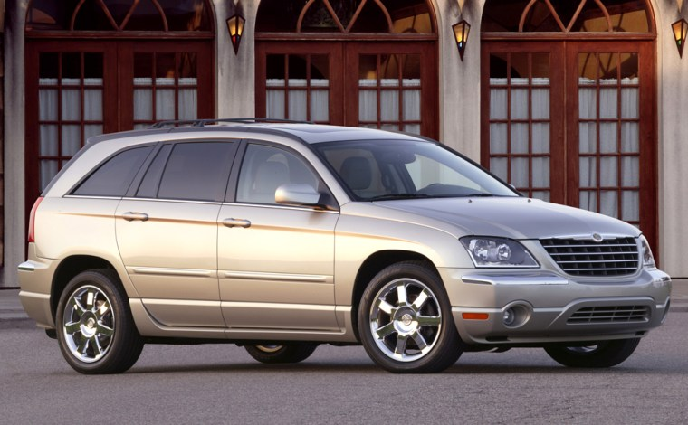 Chrysler said a review of 217,000 Pacificas from the 2004-2005 model years found 18 consumer complaints about punctures in fuel tanks.