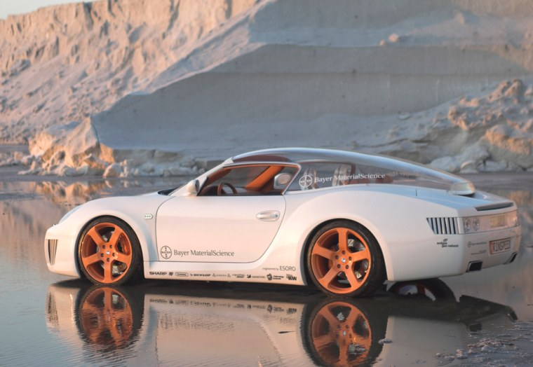 RINSPEED AND BAYER MATERIALSCIENCE DEVELOP NEW CONCEPT CAR; ''ZAZEN'' - AUTOMOTIVE ENLIGHTENMENT ON FOUR WHEELS; REVOLUTIONARY LIGHTING TECHNIQUE AND TRANSPARENT HARDTOP AT THE GENEVA MOTOR SHOW