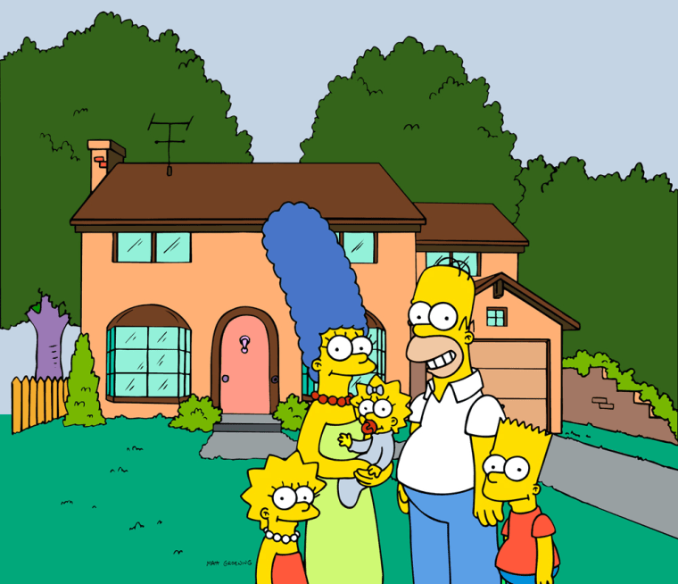 """Only one in four Americans can name more than one of the five freedoms in the First Amendment, but more than half can name at least two family members of """"The Simpsons"""" (from left, Lisa, Marge, Maggie, Homer and Bart)."""
