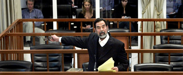 Saddam Hussein Trial Continues
