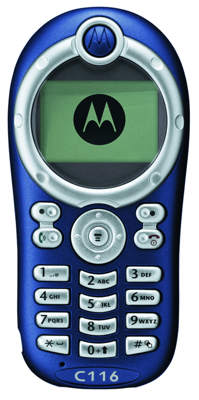 Motorola's C116 phone may be basic, but it's built amazingly well for such a cheap device and calls sounded great.