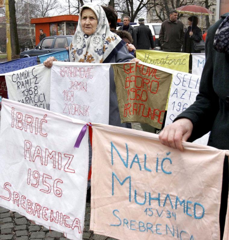 A  Muslim widow from the eastern Bosnian
