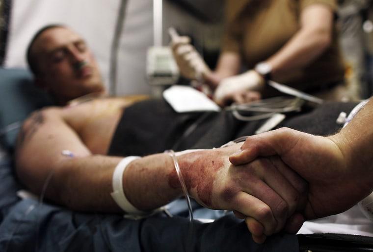 Americans And Iraqis Treated At Balad Trauma Hospital