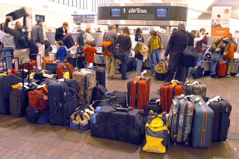 Throngs Of Travelers Return From Holiday Weekend