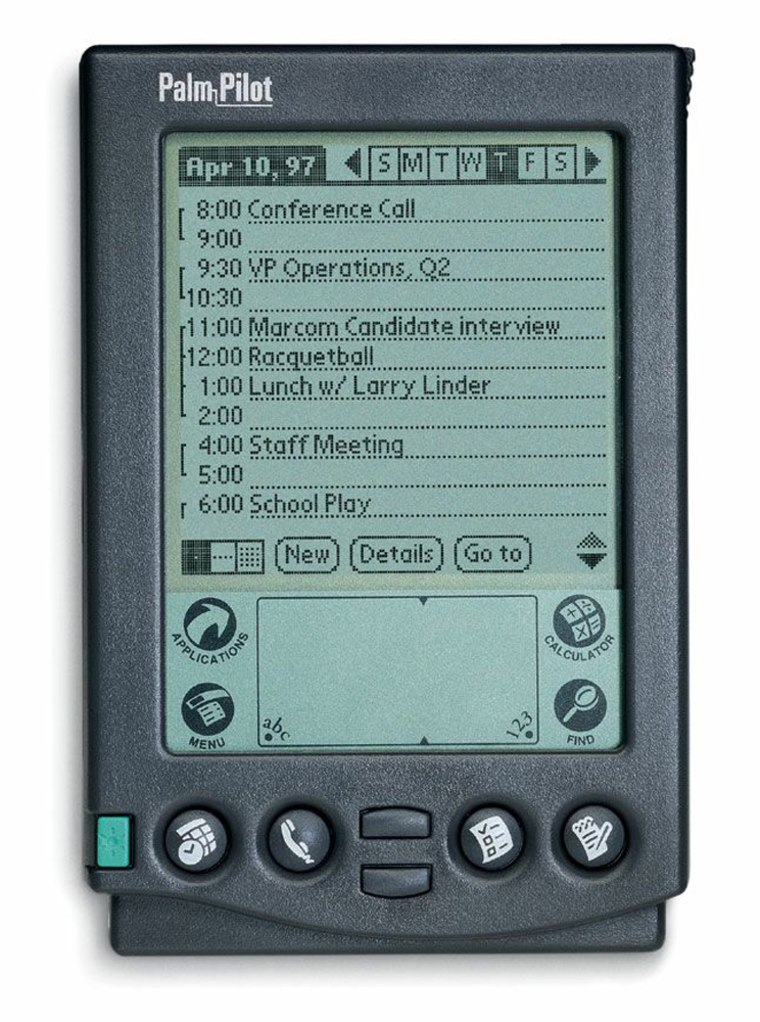 The original. The one that started the PDA craze. The one and only —Palm Pilot.