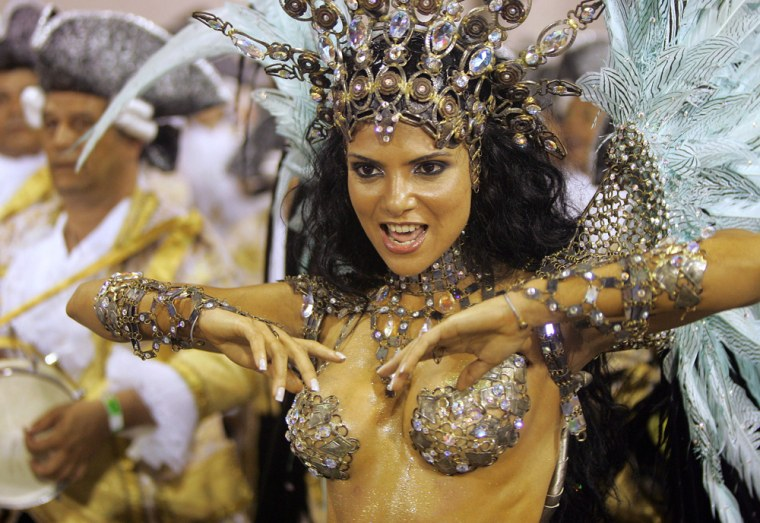 Fabia Borges, queen of the drums of Impe