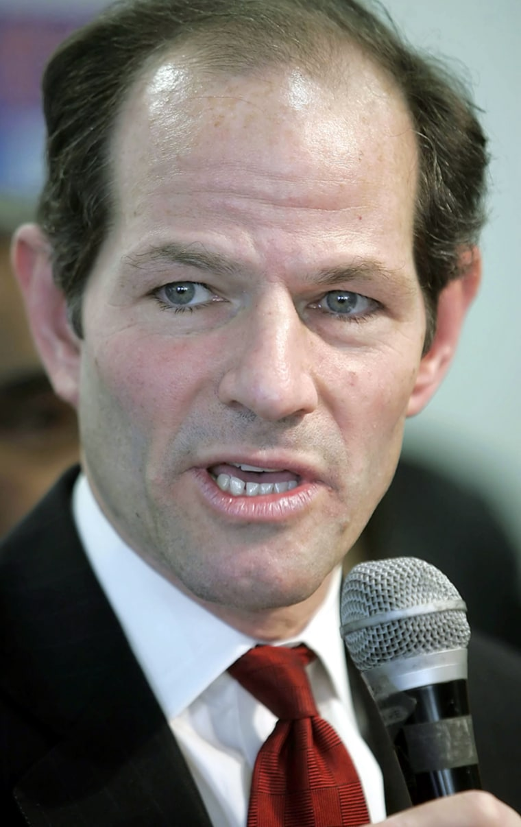 Eliot Spitzer was forced to resign as New York governorin a prostitution scandal.