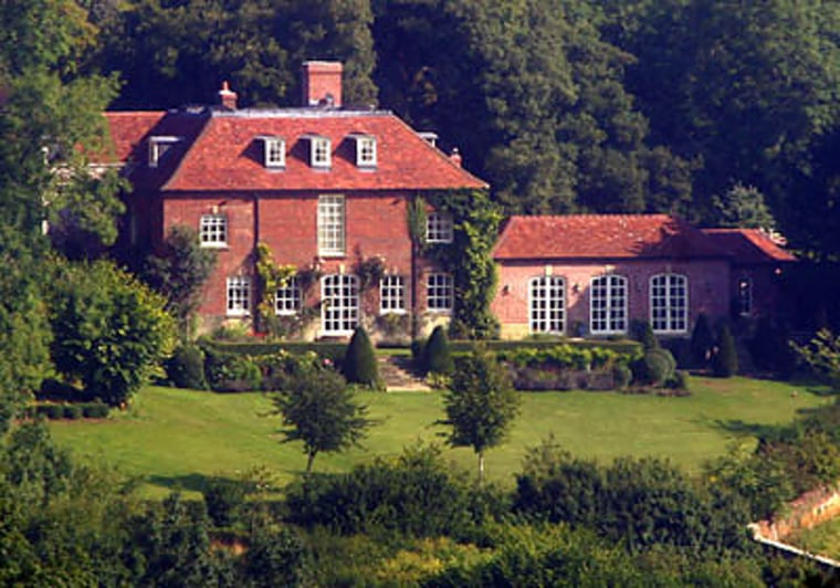 This 1,200-acre estate in Wiltshire, England is owned by Madonna and film director husband Guy Ritchie.