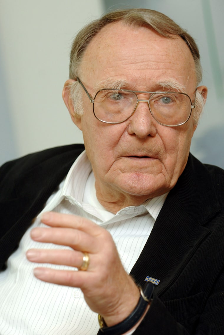 Kamprad, founder of IKEA announces a donation to Lausanne's Cantonal School of Art