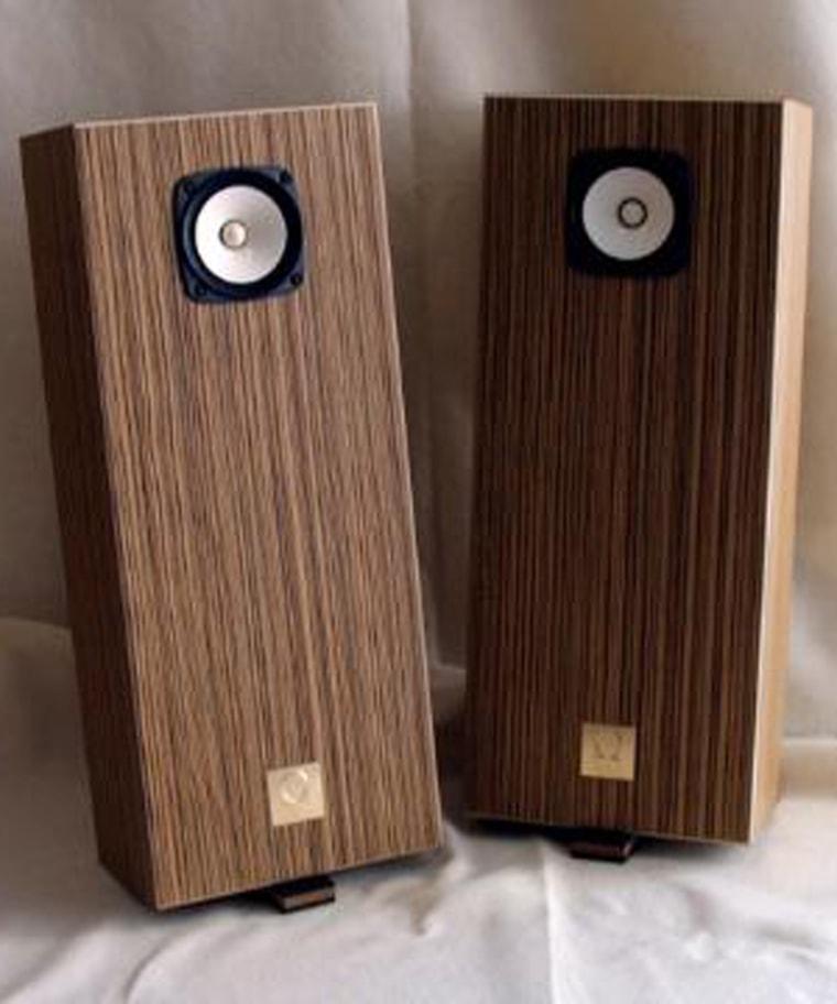Omega's brand new Super 3 XRS speakers in the beautiful Macassar Ebony finish.