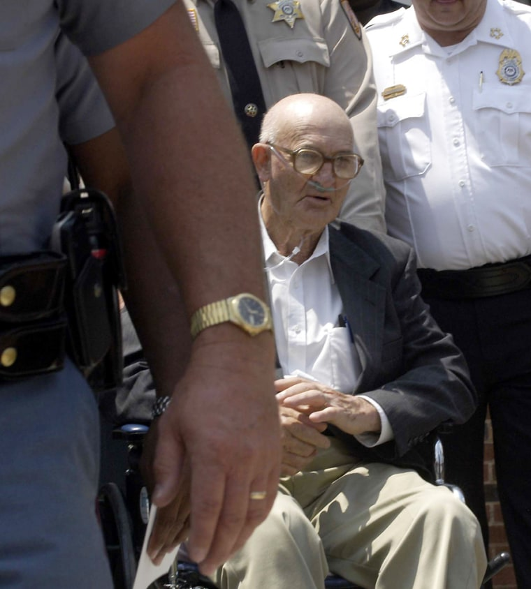 Edgar Ray Killen Found Guilty Of Manslaughter In 1964 Civil Rights Murders