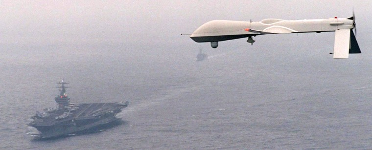 FILE PHOTO OF PREDATOR UNMANNED AERIAL VEHICLE