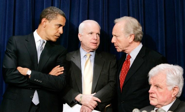 US Senators discusses immigration reform measure while on Capitol Hill
