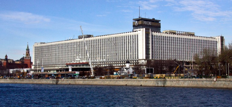 Despite lurking near the Kremlin like a hulking behemoth, the Hotel Rossiya offered 2,700 rooms with reasonable quality and at moderate prices.
