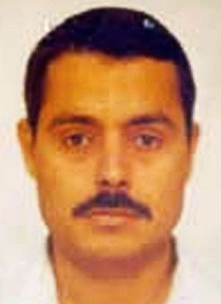 """Undated handout pictures posted on FBI's \""""Most Wanted Terrorists\"""" site shows Egyptian al Qaeda member Atwa"""