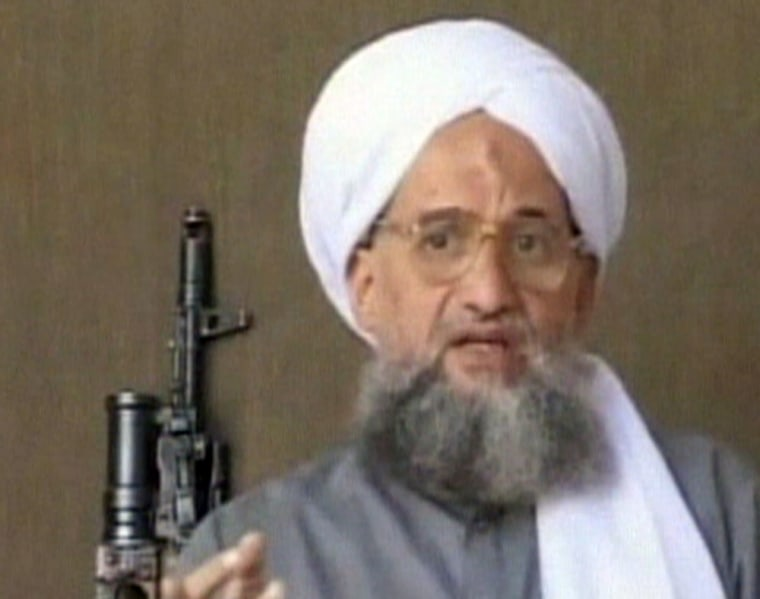 Ayman al-Zawahri, the deputy leader of al-Qaida, appears in a video posted on the Web.