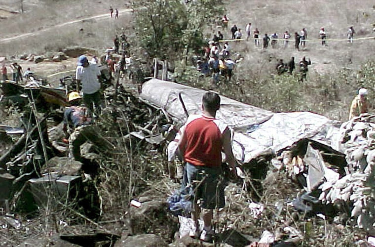 MEXICO BUS ACCIDENT