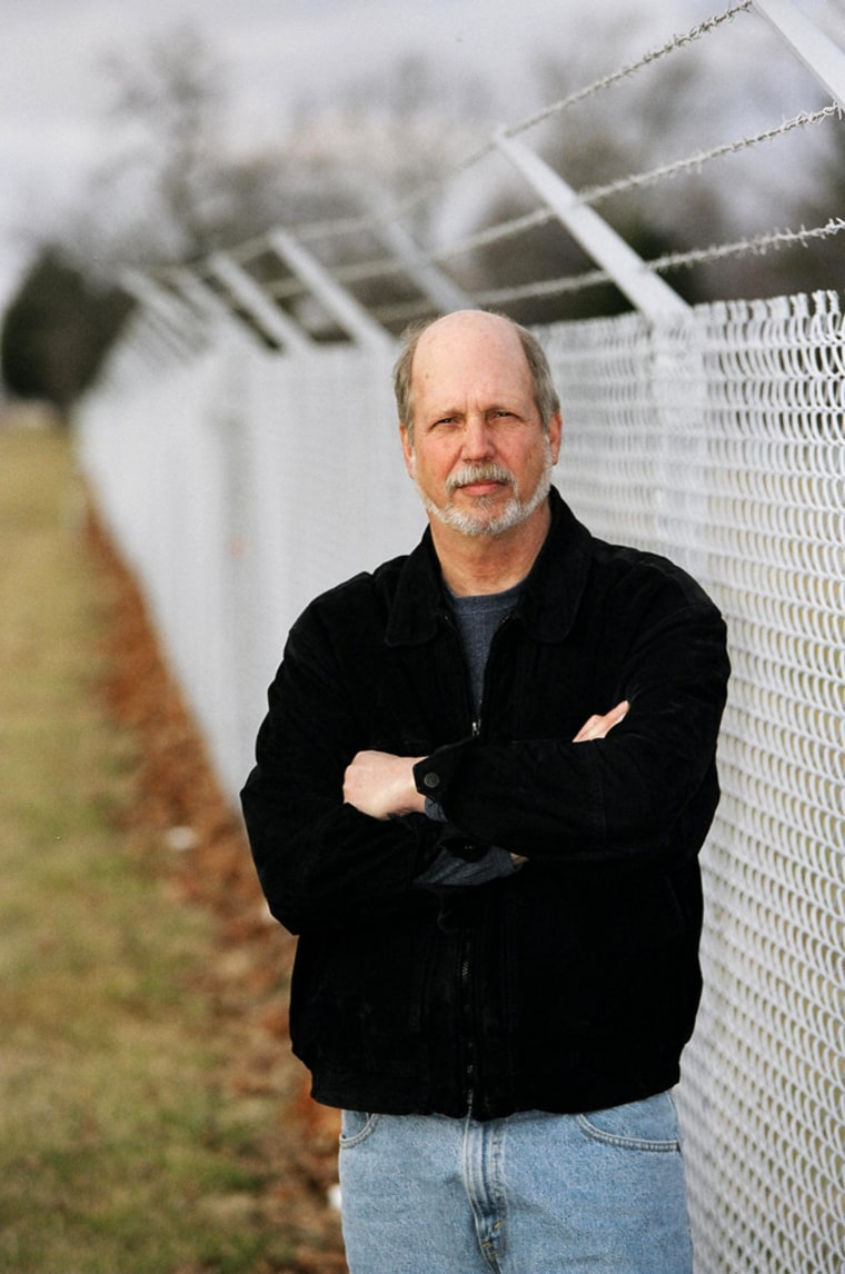 Activist Craig Williams stands outside the Bluegrass Army Depot in Berea, Ky., where hefought plans toincinerate chemical weapons.