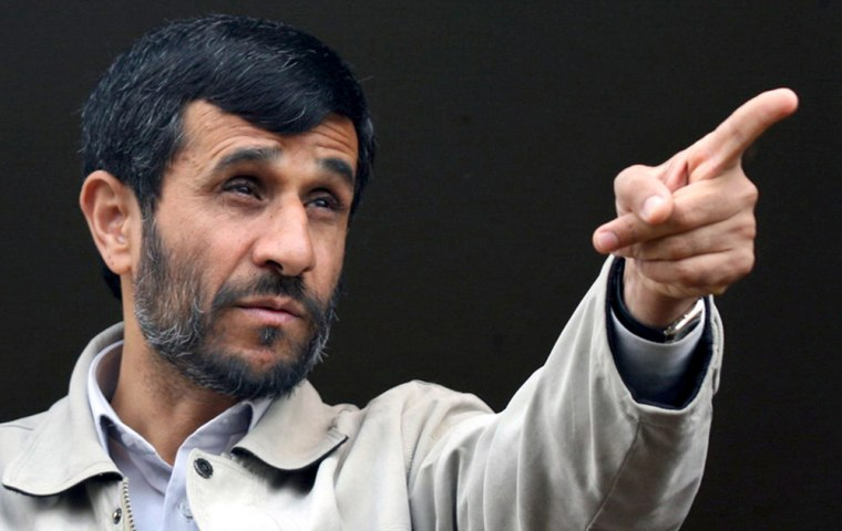 Iranian President Mahmoud Ahmadinejad tells supporters Friday thatno onecan make Tehran give up its nuclear technology.