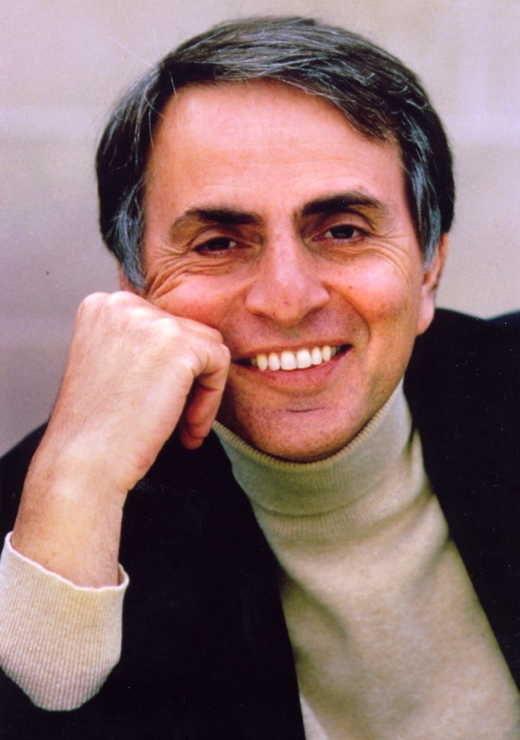 "The late astronomer Carl Sagan was the author or co-author of more than a dozen books, including ""Contact"" and ""Cosmos."""