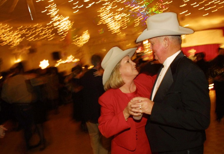Post-Presidential Inauguration Ball In Crawford, Texas