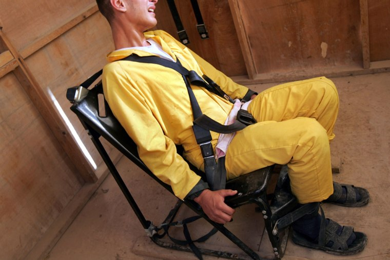 Abu Ghraib Prison Population Nearly Doubles in 2005