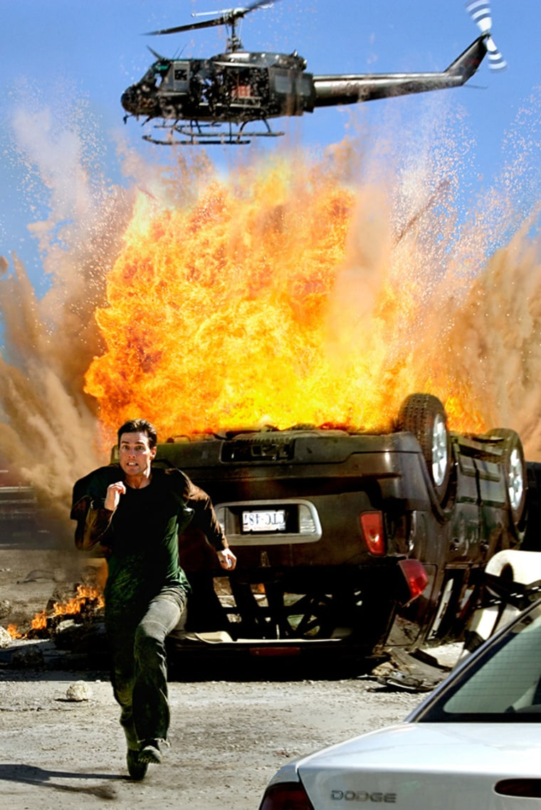 Paramount Pictures is hoping for an explosive weekend at the box office fromTom Cruise and'Mission: Impossible III.'