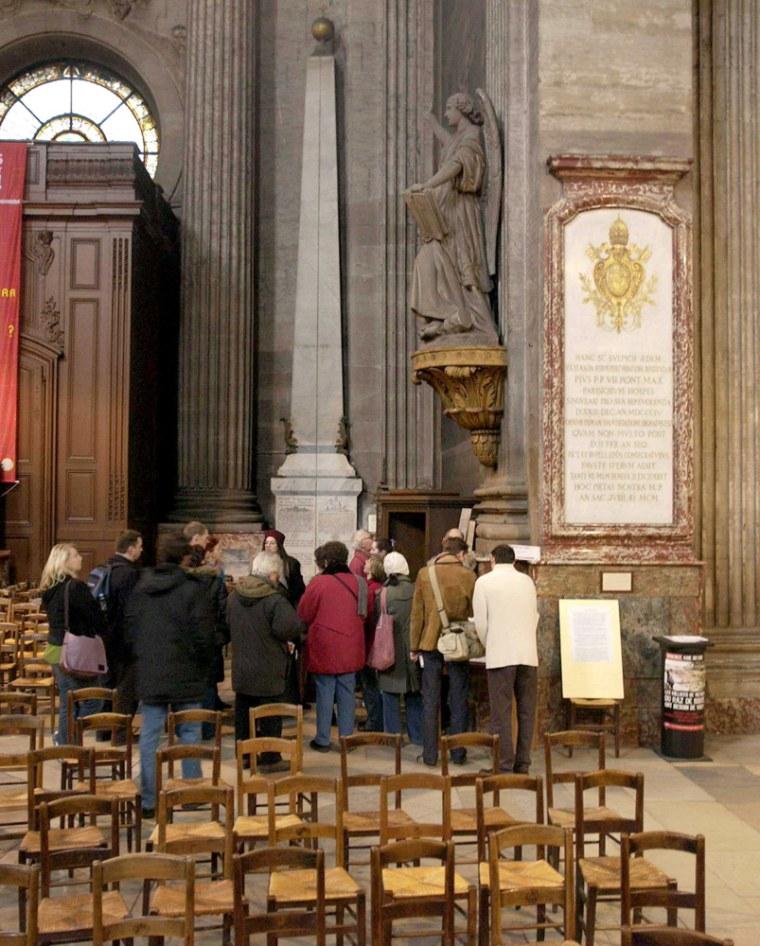 """Paris : une visite guidee autour du \""""Da Vinci Code\"""""""