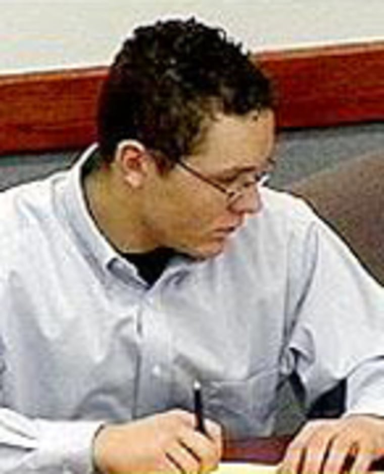 Cody Posey in court