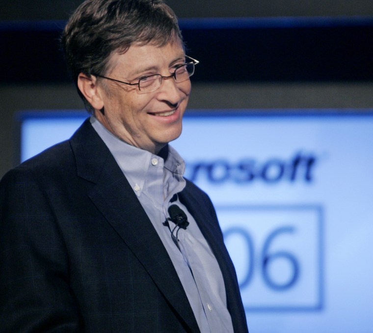 Bill Gates attends Microsoft XBox 360 2006 E3 media event in Hollywood