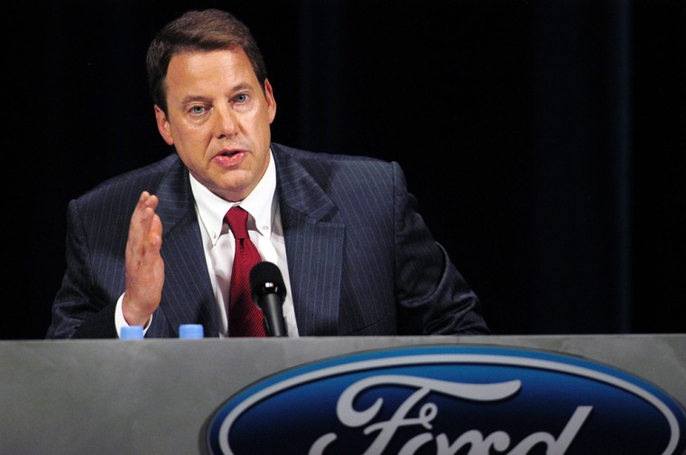 Ford Motor Company Holds Annual Stockholder Meeting