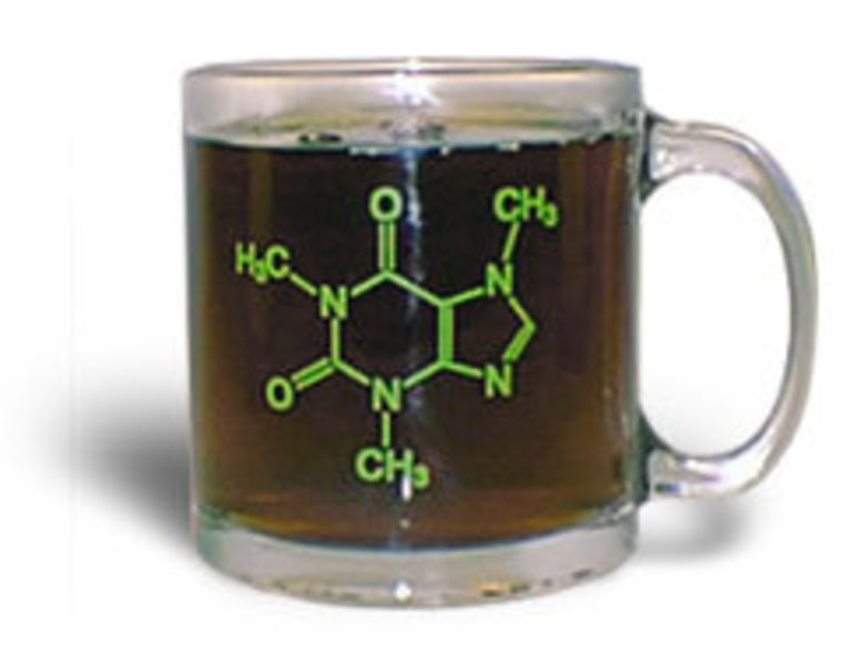 Scientists have developed a detection technique that can measure the amount of caffeine in hot liquids, such as coffee.