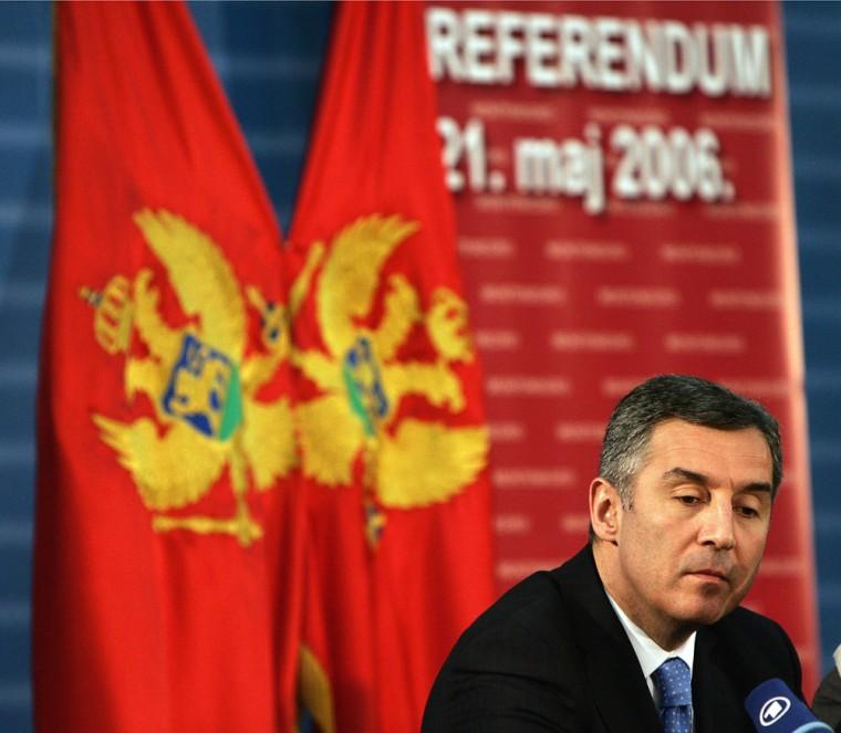 Montenegrin Prime Minister Milo Djukanov