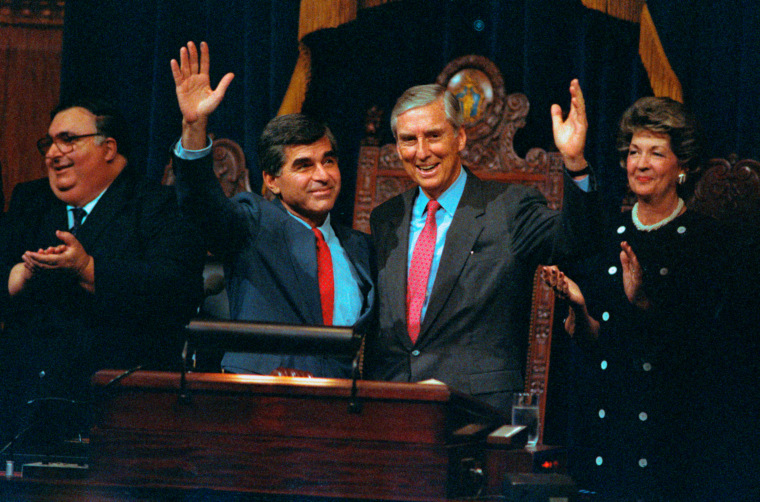 Governor Michael Dukakis and Running with Lloyd Bentsen