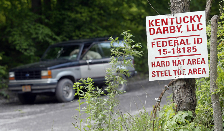 Five miners died on Saturday after an explosionat the Darby Coal Mine in Holmes Mill, Ky.