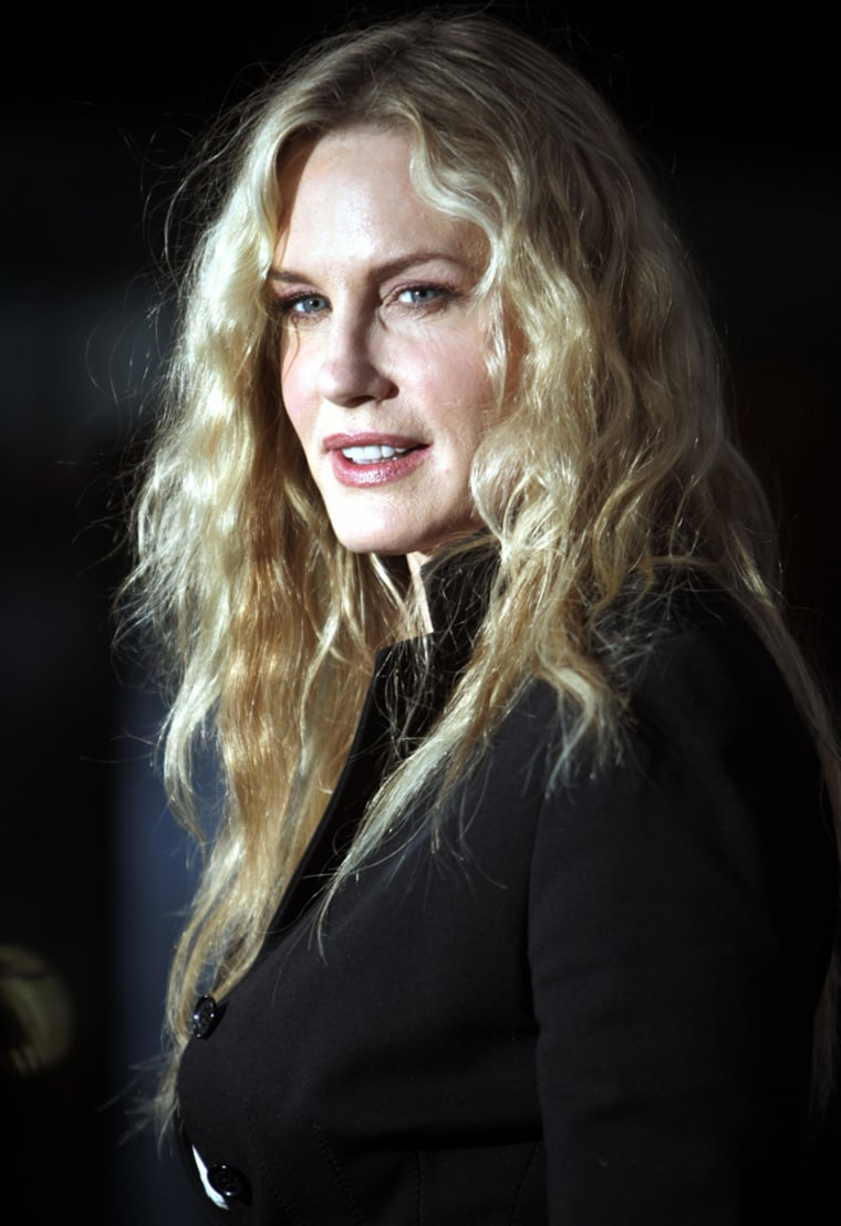 """Actress Daryl Hannah arrives at the Los Angeles premiere of the documentary film """"An Inconvenient Truth"""""""