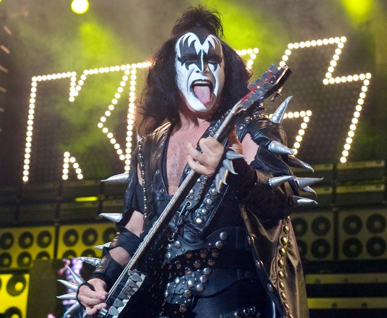 Before rock 'n' rolling all night and partying every day, Gene Simmons delivered the Long Island Star Journal in Queens, New York, for $37.50 a week.