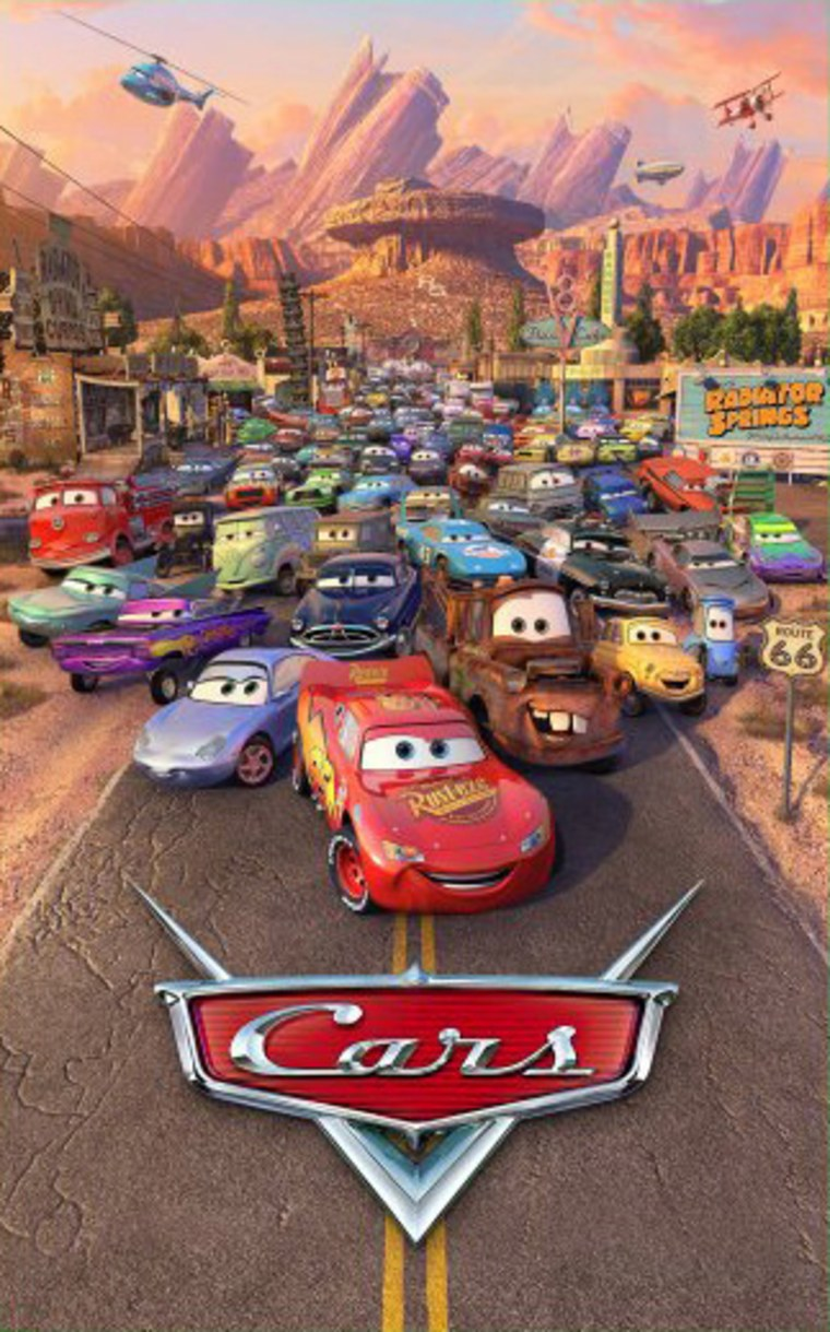 "Walt Disney's ""Cars"" rolls into theaters on June 9."