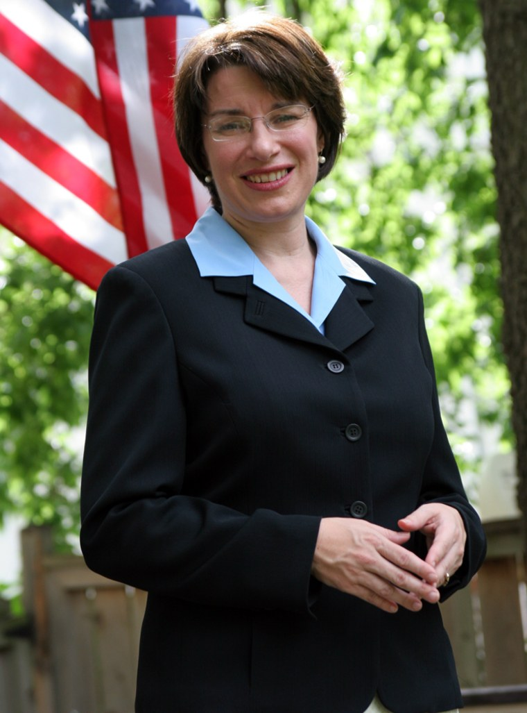 Democrat Amy Klobuchar, the Hennepin County attorney, faces a primary against left-of-center Ford Bell in September. She's expected to prevail and face Republican Rep. Mark Kennedy in November for the open Senate seat.