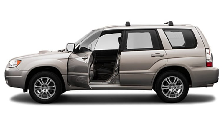 The Subaru Foresteris a reliable choicefor sport vacationers.