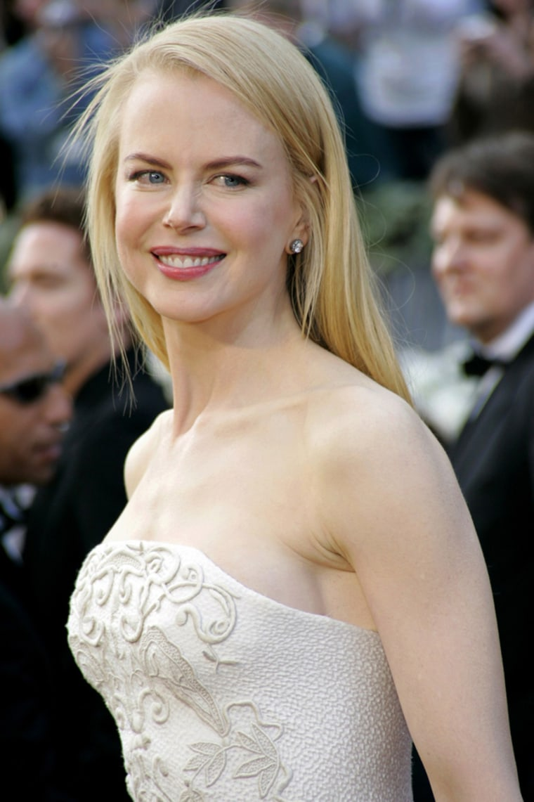 File photo of actress Nicole Kidman arriving at Academy Awards in Hollywood