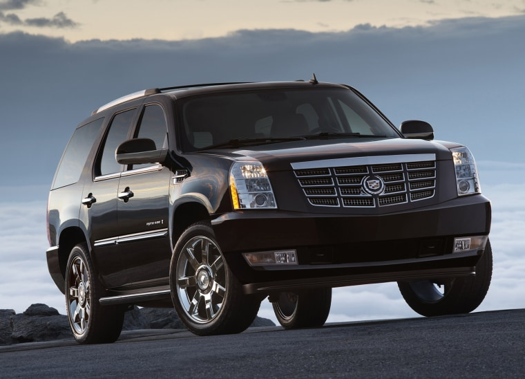 The Cadillac Escalade had the highest rate of insurance theft claims for the fourth straight year, according tothe Insurance Institute for Highway Safety.
