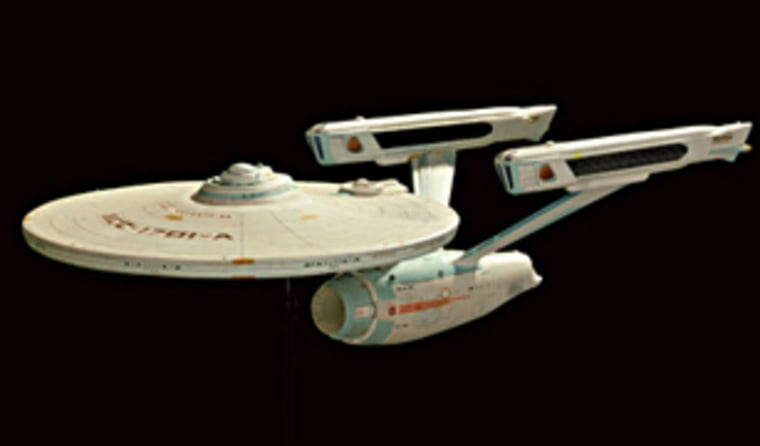 """This Enterprise model used in 1991's """"The Undiscovered Country"""" will go for an estimated $15,000 to $25,000."""
