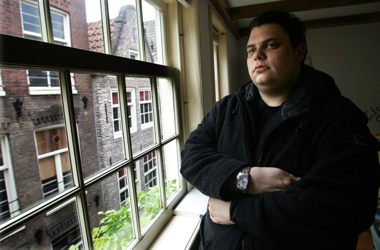 Tim, 21, a game addict, poses after therapy at Smith & Jones Addiction Consultants in Amsterdam, Netherlands, Thursday.