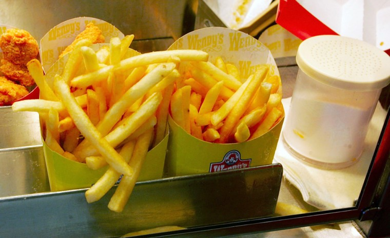 Wendy's To Cut Trans Fats With New Cooking Oil
