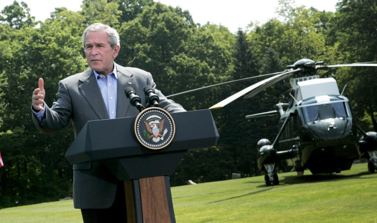 President Bush Holds Joint Press Conference With Danish President