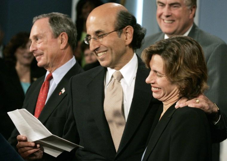 Randi Weingarten; Joel I. Klein; Michael Bloomberg