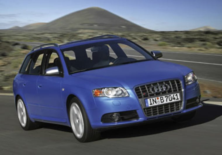 The Audi S4 Wagon tops out at 155 mph, and comes with a $47,400 price tag, Forbes.com reports.