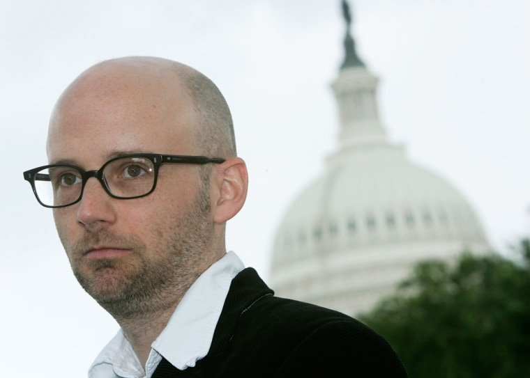 Moby Goes To Capitol Hill To Lobby To Protect Internet Freedom