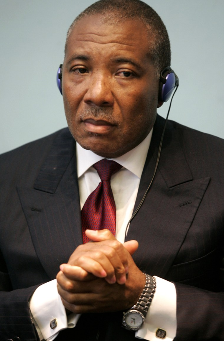 (FILES) Former Liberian President Charle